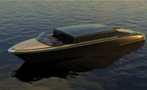 sleek looking electric water limousine artists conception