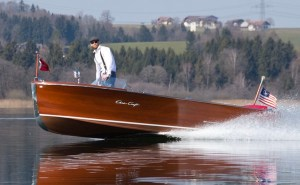 gussies electric boat awards classic Riva speedboat electrified