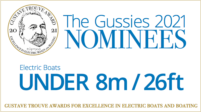 Words: The Gussies Electric Boat Awards Boats Under 8m / 26ft