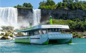 Electric Maid of the Mist in Niagara Falls
