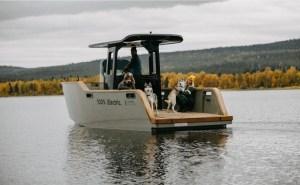 Electric Boat Awards nominee X Shore Eelex 8000