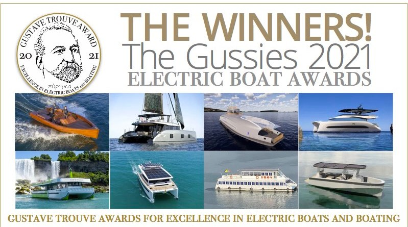 Gustave Trouvé Electric Boat Awards Winners 2021