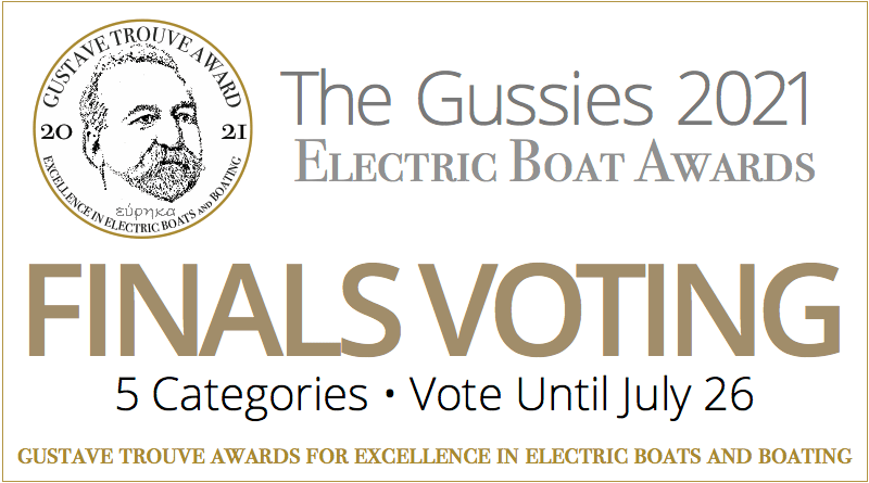 2021 Gussies Electric Boat Awards Finals Voting