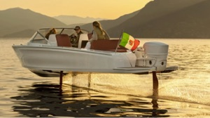Candela C-7 hydrofoiling electric boat