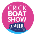 Crick Boat Show logo - a number of electric boat exhibitors