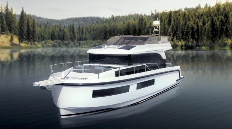 Delphia Groupe Beneteau electric boat - artist impression