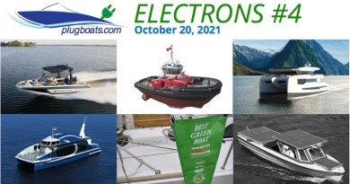 Electrons #4: arcs, sparks and electric boat news