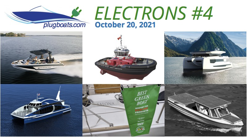Electric Boat News - 6 images of electric boats with details in the post