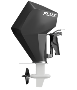 Flux Marine electric outboard motor