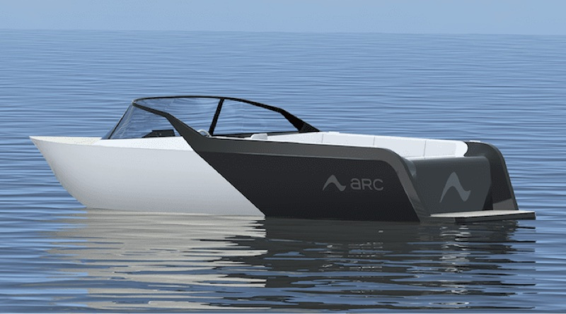 350 kW electric boat - artist impression
