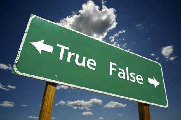 True False