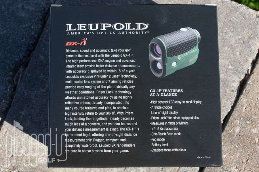 Leupold GX-1i2 Laser Rangefinder Review - Plugged In Golf