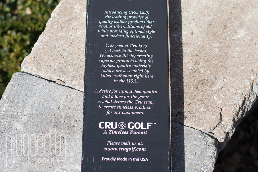 CRU Golf Headcovers (3)