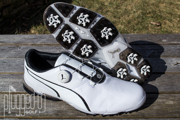 b99618bdef6 Puma TitanTour Ignite Disc Golf Shoe Review - Plugged In Golf