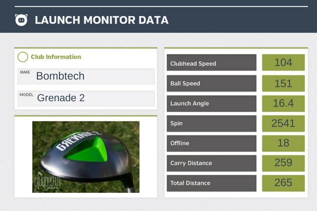 Grenade 2 LM Data