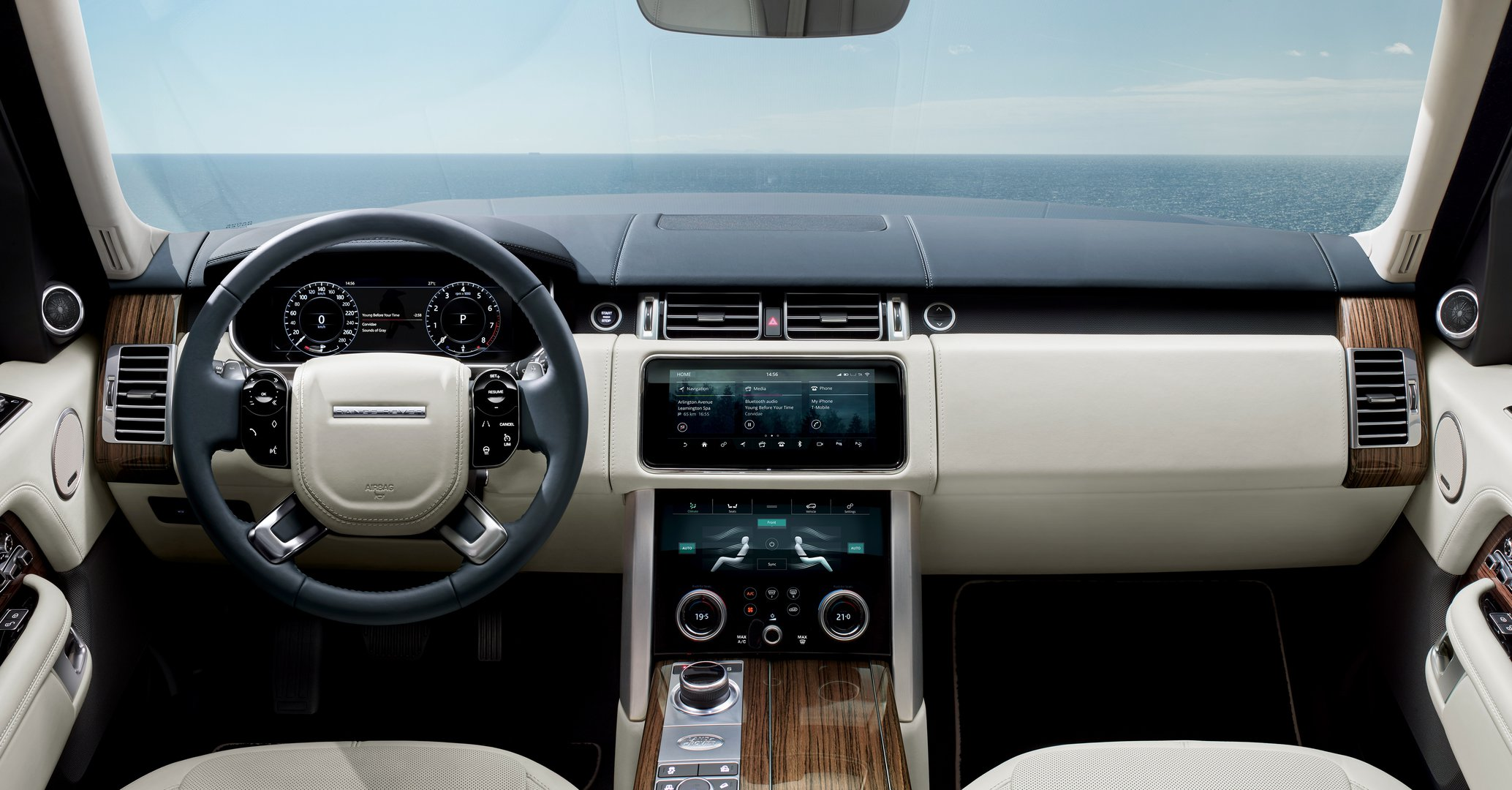 Range Rover also as plug in hybrid Driving Plugin magazine