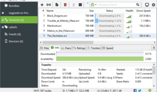 UTorrent Pro Crack 3.5.5 Build 45798 Stable for PC Download [Latest]