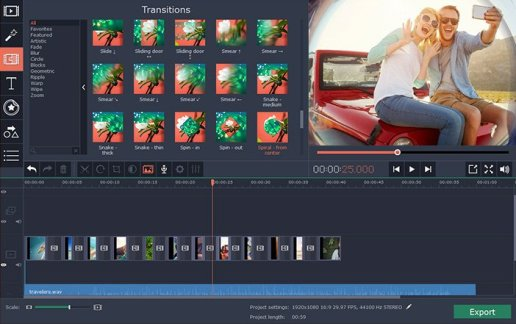 Movavi Video Editor Plus 21.0.0 Crack