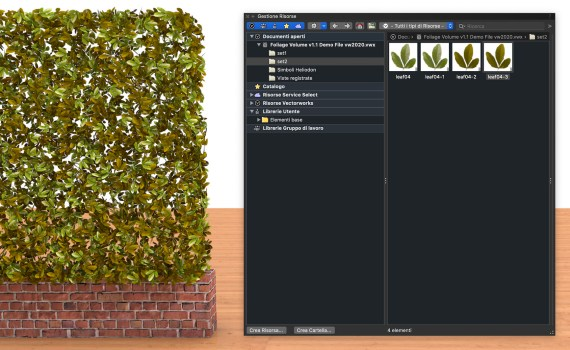Foliage Volume for Vectorworks