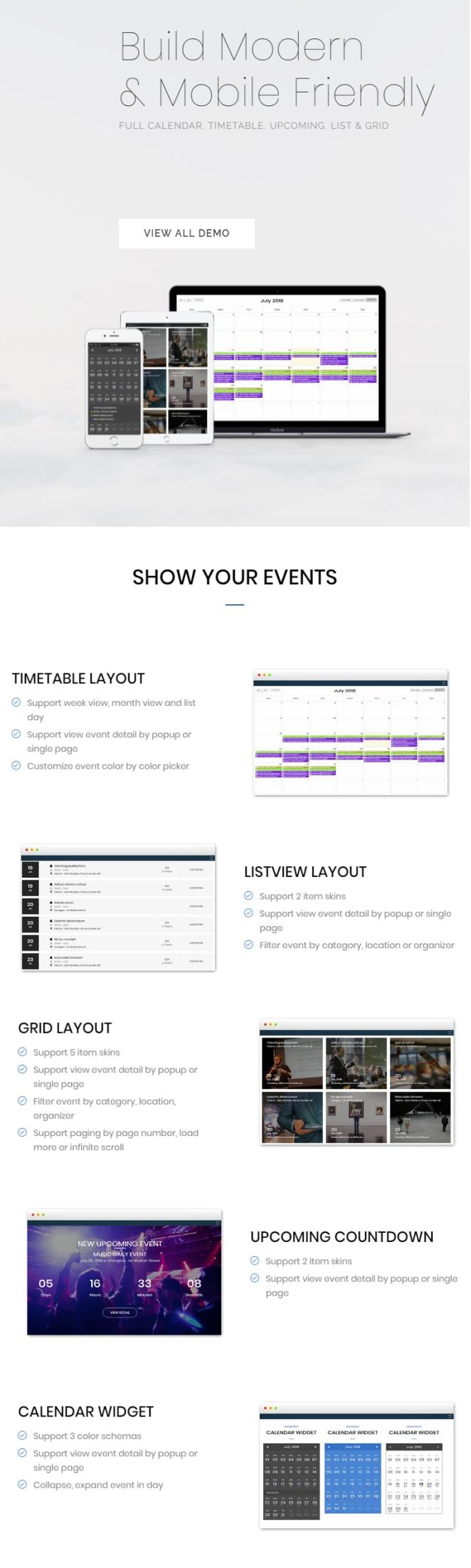 FAT Event - WordPress Event and Calendar Booking - 4