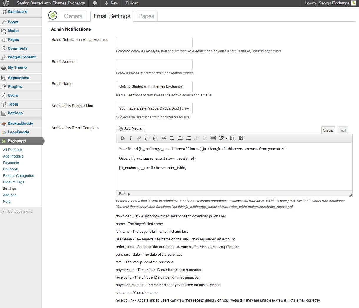 IThemes Exchange Simple WP Ecommerce Plugin Directory WordPress