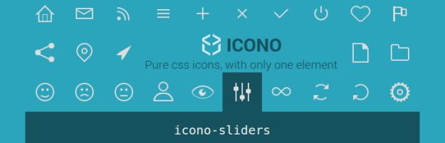 Icono – Pure CSS Icons