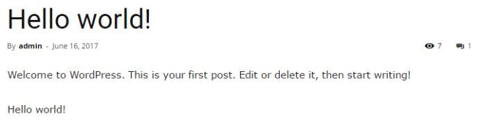 """Insert Title"" WordPress Plugin"
