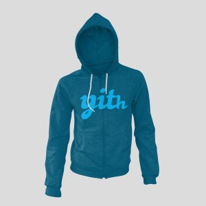 YITH Sweatshirt Trendy blue