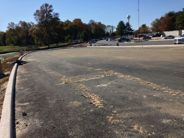 Chesapeake College new parking lot expansion