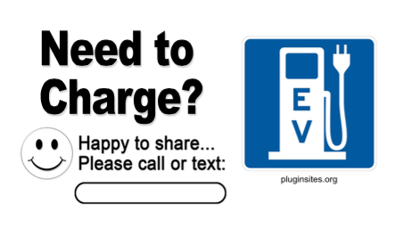 Need to Charge? Card