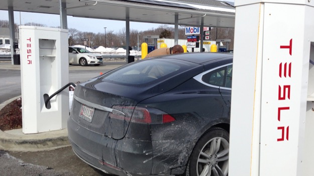 Milford, CT Tesla Supercharger