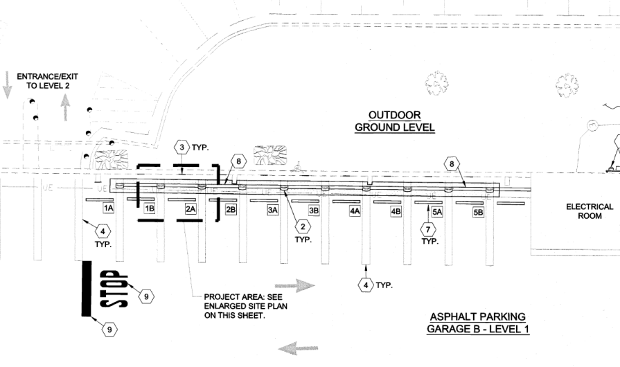Tysons Supercharger Site Plan