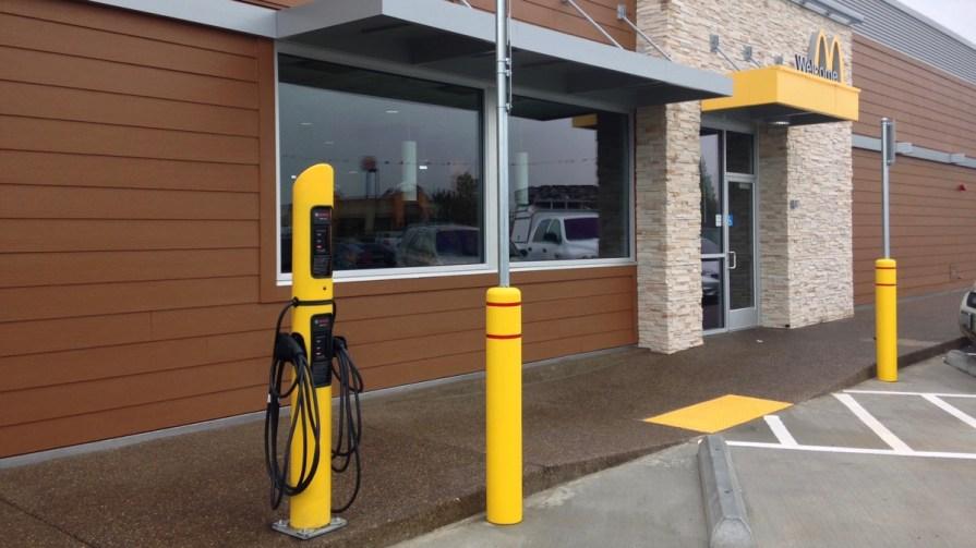 McDonalds EV Charging Station
