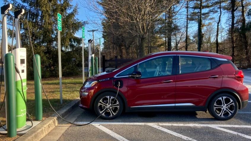 Meadowood Park EV charging