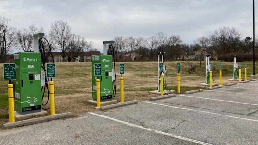 Howard Community College EV Charging