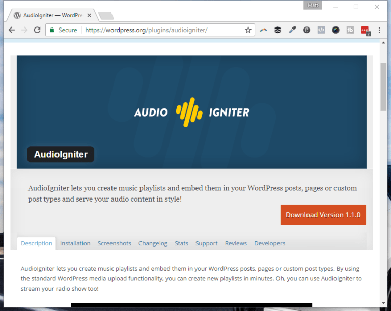 Sync up Soundcloud to AudioIgniter