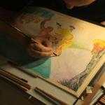 illustrating Mantis Kung Fu