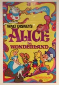 Diseny Poster for Alice in Wonderland