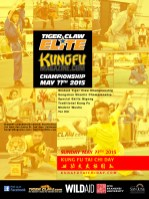 Initial design for the 2015 Tiger Claw Elite KungFuMagazine.com Championship