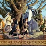 Fellowship of the Ring illustration by The Brothers Hildebrandt