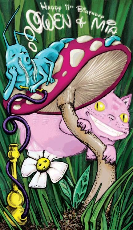 Alice in Wonderland - commission