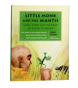 Book Cover: Little Monk & The Mantis