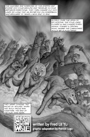 Legend of the Snow Wolf - page 1