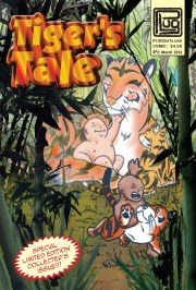 Tiger's Tale: comic cover