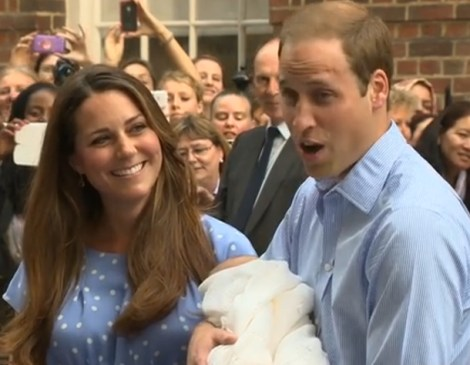 Kate Middleton and Prince Charles baby (1)