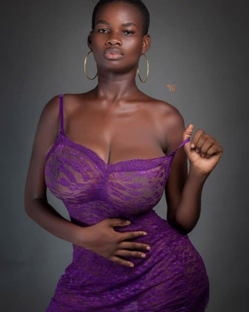 PHOTOS: Meet Pamela Odame - The Busty Model who says Shes