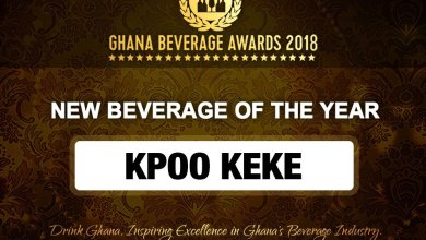 Kpoo Keke Ghana Beverage Awards 2018 winners