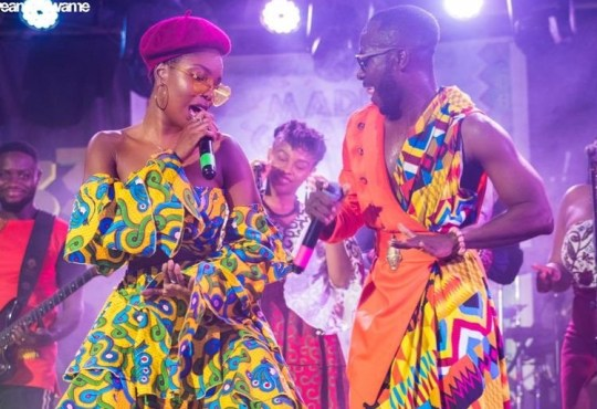Feli Nuna and Okyeame Kwame Made In Ghana album launch 10