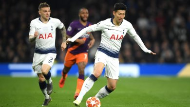 Tottenham Man City UCL