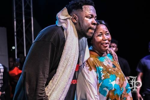 Portia Lamptey Medikal mother 2